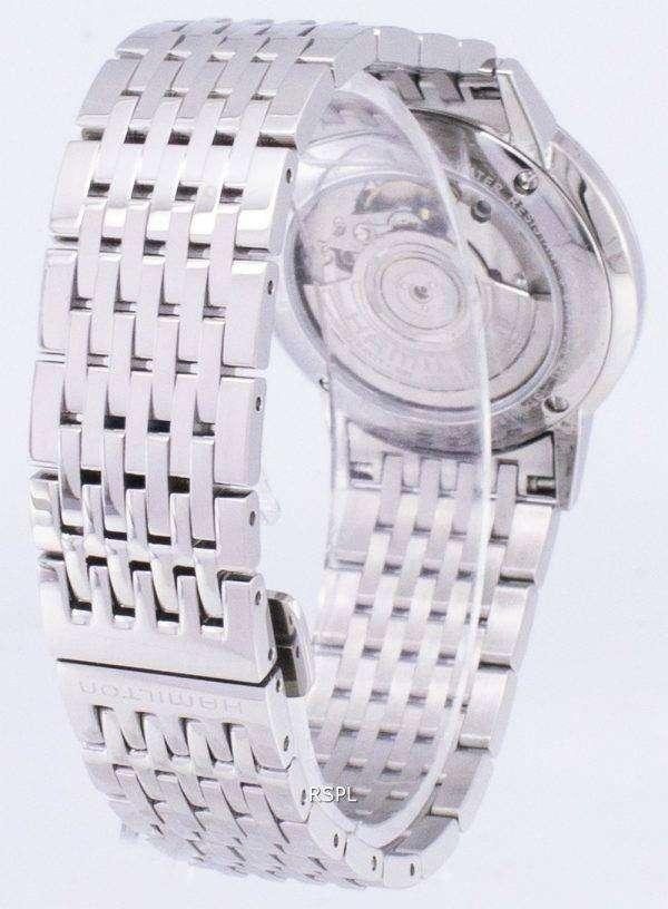 Hamilton Automatic Black Dial H38455131 Mens Watch