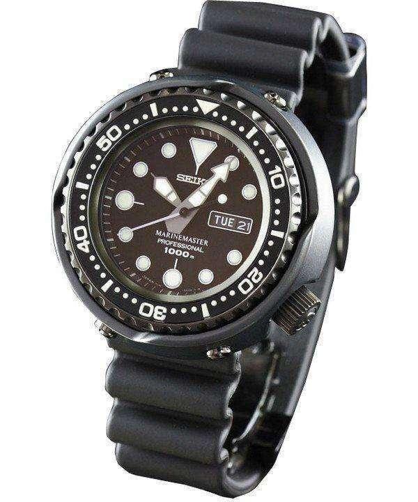 Seiko Mens Watch MarineMaster Professional 1000M Diver Quartz SBBN013