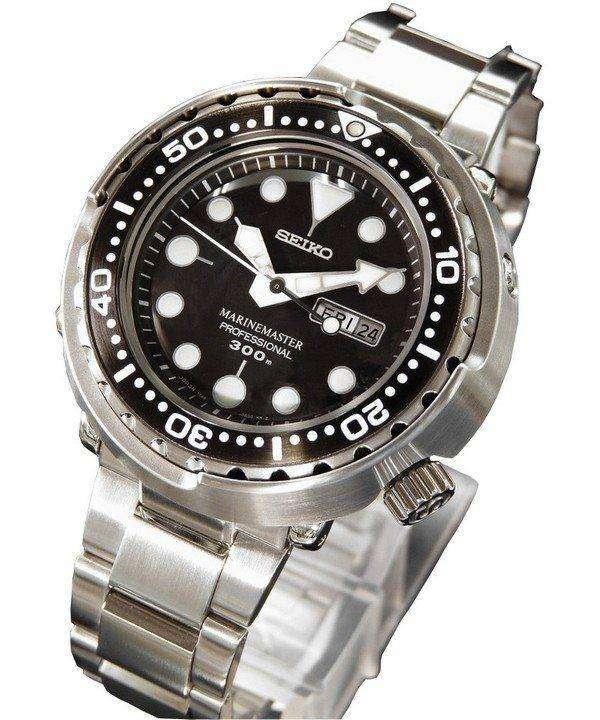Seiko Quartz SBBN015 Prospex MarineMaster Professional 300M Diver Watch