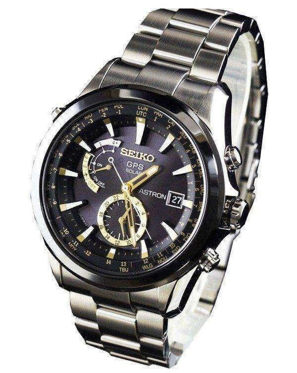 Seiko Astron GPS Solar SBXA005 SAST005 Mens Watch