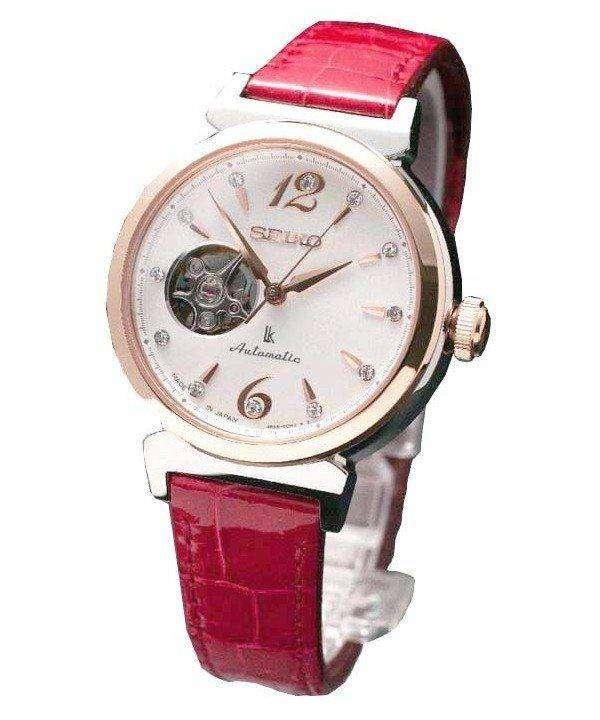 Seiko Lukia Automatic Swarovski Crystals SSVM012 Womens Watch