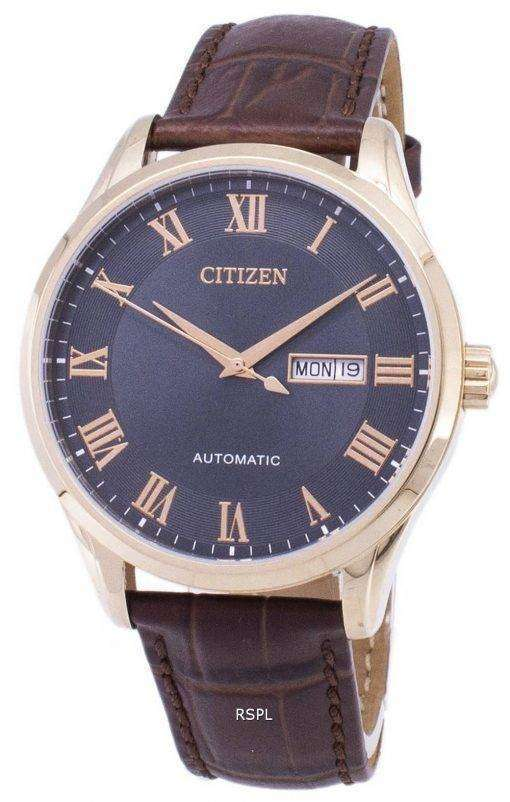 Citizen Analog Automatic NH8363-14H Men's Watch