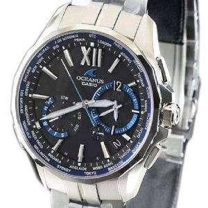 Casio Oceanus OCW-S3400-1AJF Manta Wave Ceptor Japan Made Men's Watch