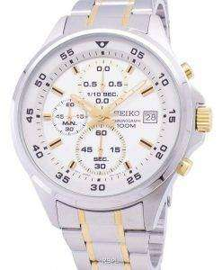 Seiko Chronograph Quartz SKS629 SKS629P1 SKS629P Men's Watch