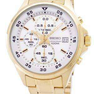 Seiko Chronograph Quartz SKS632 SKS632P1 SKS632P Men's Watch