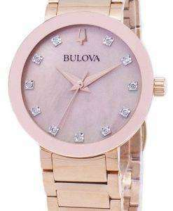 Bulova Modern 97P132 Diamond Accents Quartz Women's Watch