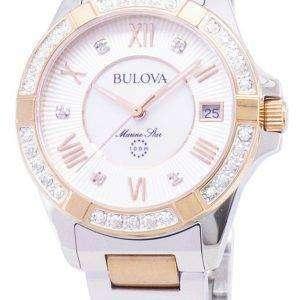 Bulova Marine Star 98R234 Diamond Accent Quartz Women's Watch