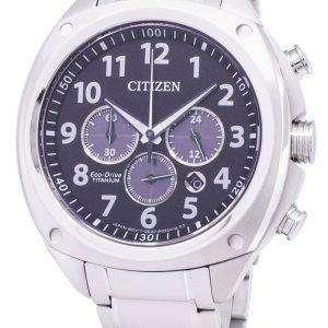 Citizen Eco-Drive CA4310-54E Super Titanium Chronograph Men's Watch