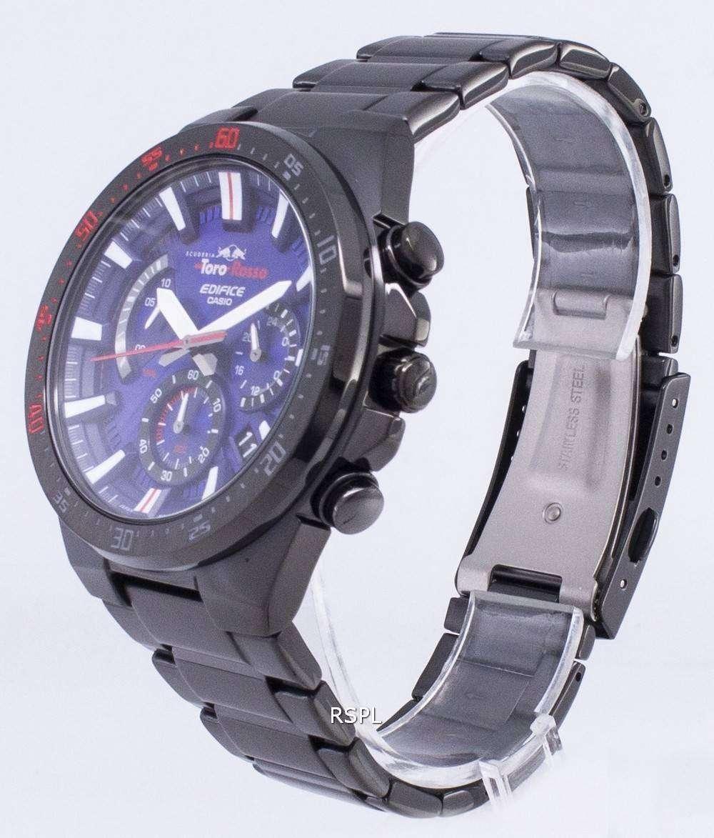 f05ee94cde7 Casio Edifice EFR-563TR-2A Scuderia Toro Rosso Limited Function Men s Watch