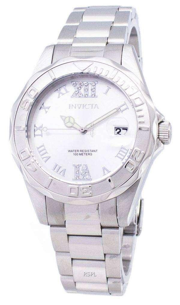 Invicta Pro Diver 12851 Analog Quartz 200M Women's Watch