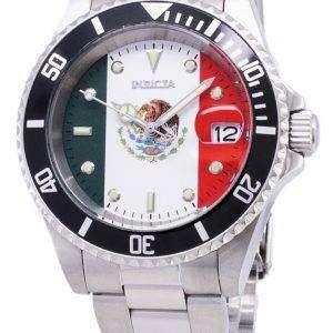 Invicta Pro Diver 28702 Limited World Soccer Mexico Edition Automatic 200M Men's Watch