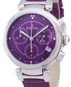 Edox LaPassion 102203CROIN 10220 3C ROIN Chronograph Quartz Women's Watch