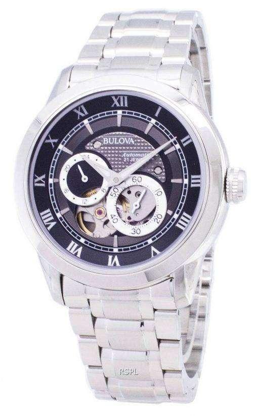 Bulova Automatic BVA Series Dual Aperture Dial 96A119 Mens Watch