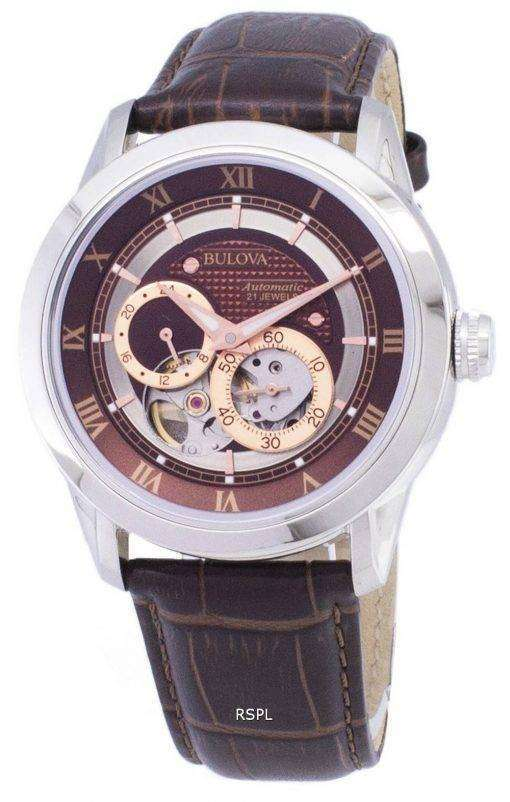 Bulova Automatic BVA Series Dual Aperture Dial 96A120 Mens Watch