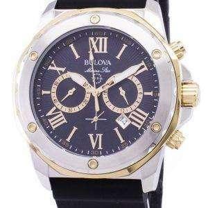 Bulova Marine Star 98B277 Chronograph Quartz Men's Watch