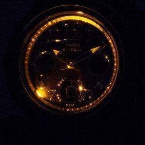 Casio Baby-G BGA-150PG-2B2 Illumination Analog Digital Women's Watch