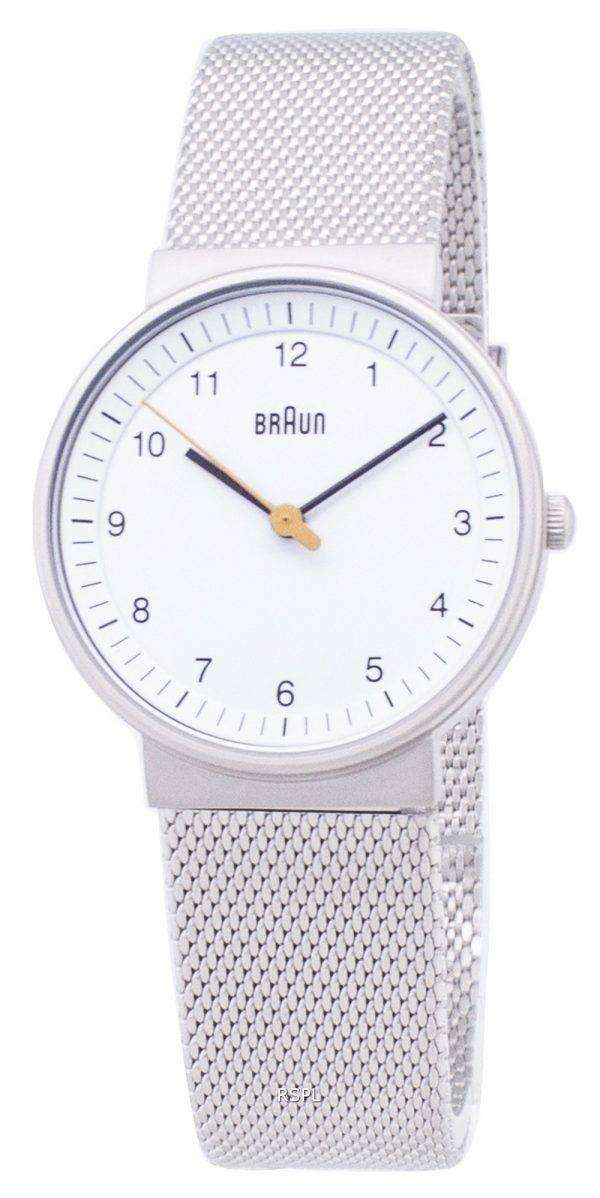 Braun Classic BN0031WHSLMHL Analog Quartz Women's Watch