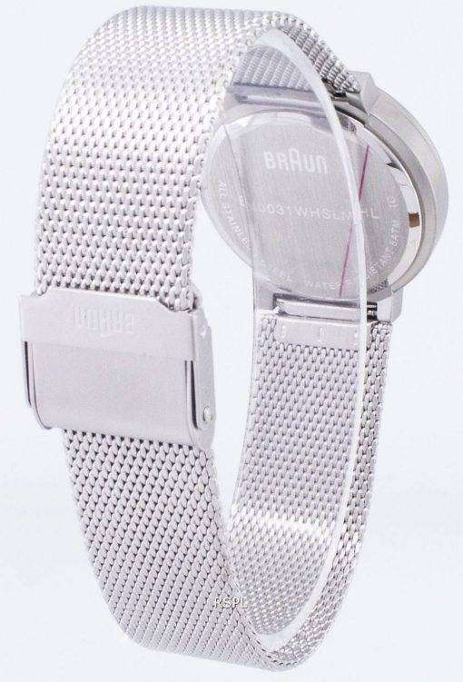 Braun Classic BN0031WHSLMHL Analog Quartz Women's Watch