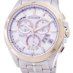 Citizen Eco-Drive BY0054-57A Titanium Analog Men's Watch