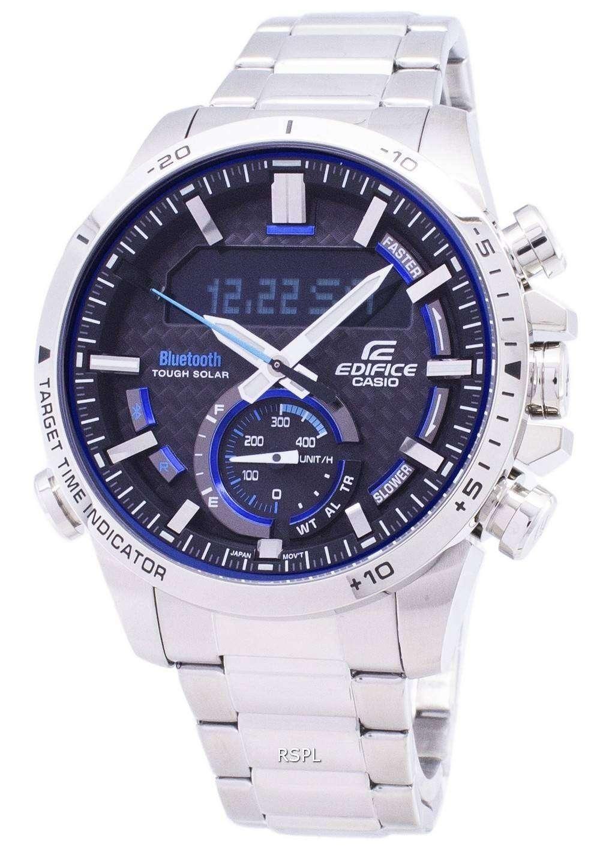 1a170527a9b6 Casio Edifice ECB-800D-1A Tough Solar Bluetooth Illuminator Men s Watch