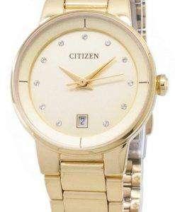Citizen Automatic EU6012-58P Diamond Accents Analog Women's Watch