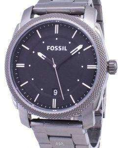 Fossil Machine Black Dial Smoke IP Stainless Steel FS4774 Mens Watch