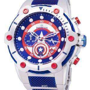 Invicta Marvel 25780 Captain America Limited Edition Chronograph Quartz Men's Watch