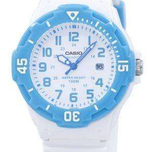 Casio Analog White Dial LRW-200H-2BVDF LRW-200H-2BV Womens Watch