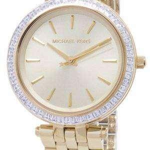 Michael Kors Mini Darci Crystals Gold Tone MK3365 Womens Watch