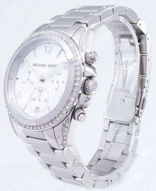 Michael Kors Chronograph Crystal MK5165 Womens Watch