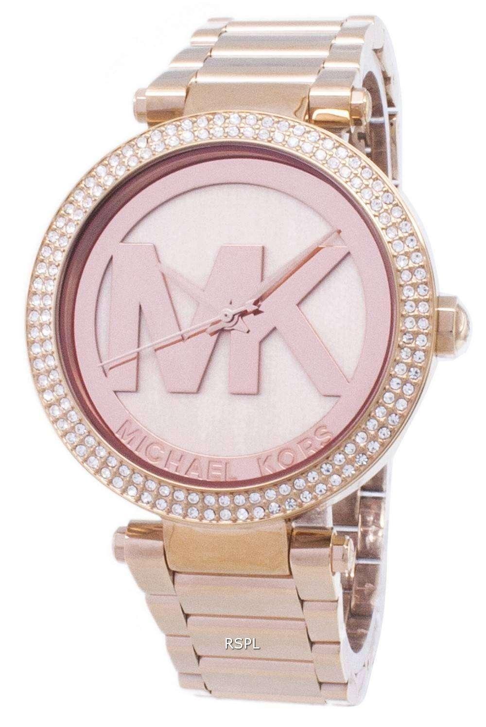 7feb442a4d2f Michael Kors Parker Crystals MK5865 Womens Watch - CityWatches.co.uk
