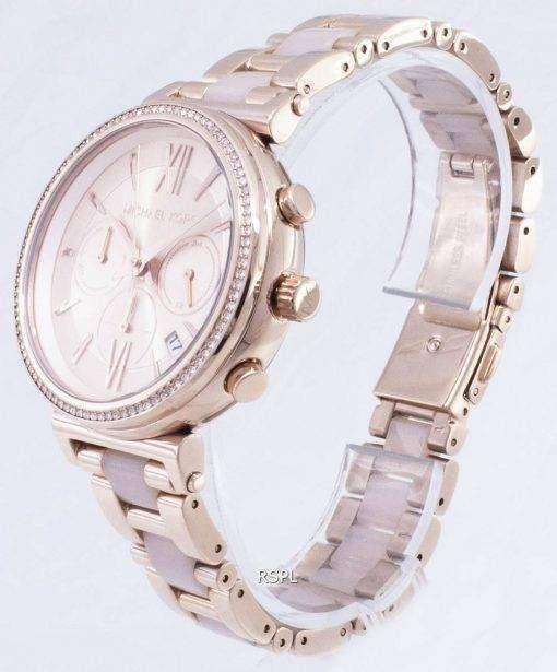 Michael Kors Sofie Chronograph Quartz Diamond Accent MK6560 Women's Watch