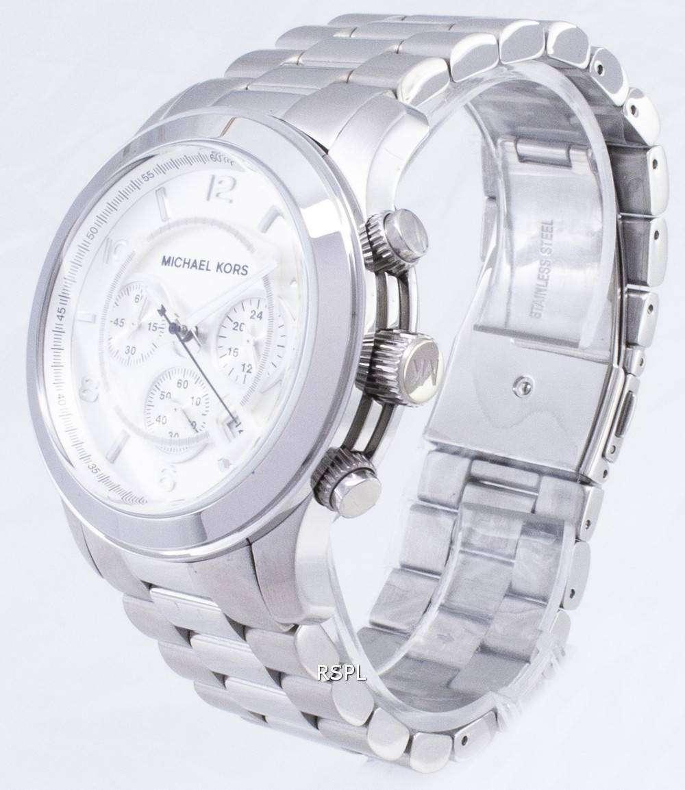 Amazon.com: michael kors silver mens watch