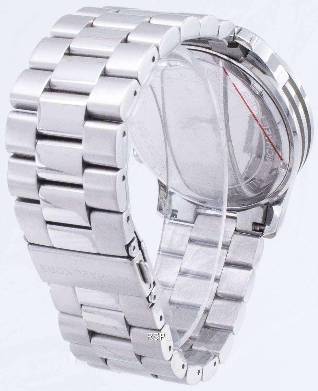 MICHAEL KORS mens watch with diamond Silver | eBay