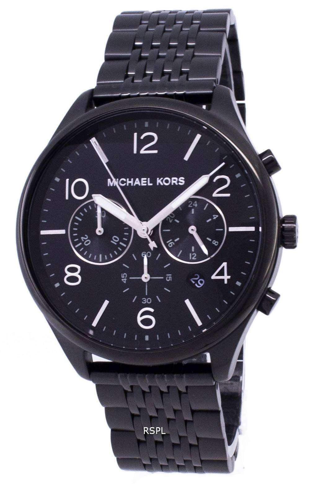 4daf2491cf5e5 Michael Kors Merrick MK8640 Chronograph Quartz Men s Watch ...