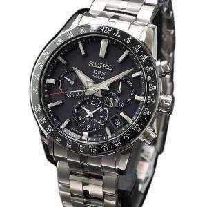 Seiko Astron SBXC003 Titanium GPS Solar Power Reserve Japan Made Men's Watch