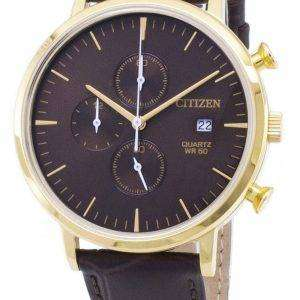 Citizen Chronograph AN3612-09X Quartz Analog Men's Watch