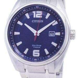 Citizen Eco-Drive AW1240-57M Titanium Analog Men's Watch