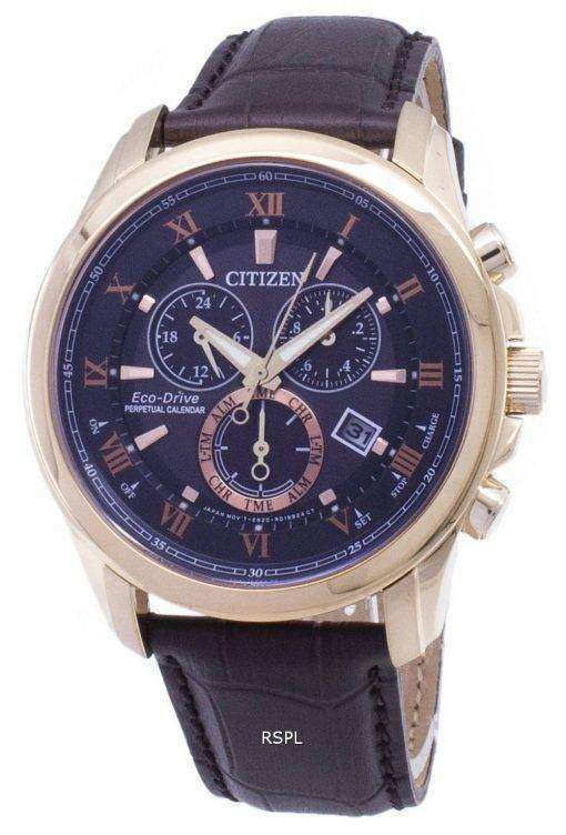 Citizen Eco-Drive BL5542-07E Chronograph Analog Men's Watch