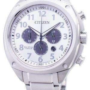 Citizen Eco-Drive CA4310-54A Titanium Chronograph Analog Men's Watch