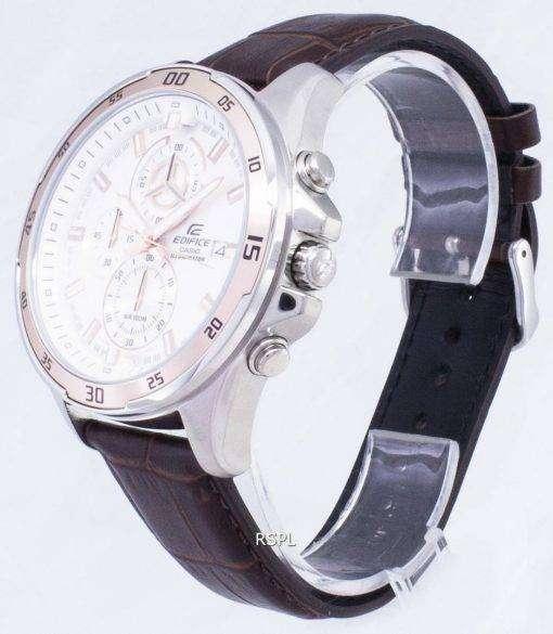 Casio Edifice EFR-547L-7AV EFR547L-7AV Chronograph Illuminator Analog Men's Watch