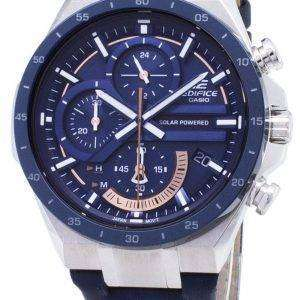 Casio Edifice EQS-920BL-2AV EQS920BL-2AV Solar Chronograph Men's Watch