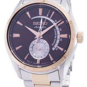 Seiko Presage Automatic Power Reserve  SSA308 SSA308J1 SSA308J Japan Made Men's Watch