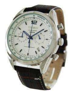 Seiko Chronograph Tachymeter SSB095 SSB095P1 SSB095P Men's Watch