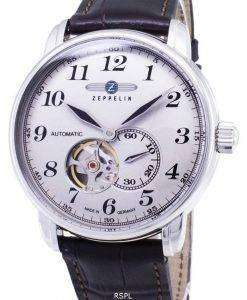 Zeppelin Series LZ127 Graf 7666-5 76665 Automatic Germany Made Men's Watch