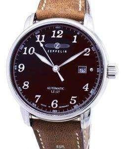 Zeppelin Series LZ127 Graf 8656-3 86563 Germany Made Men's Watch