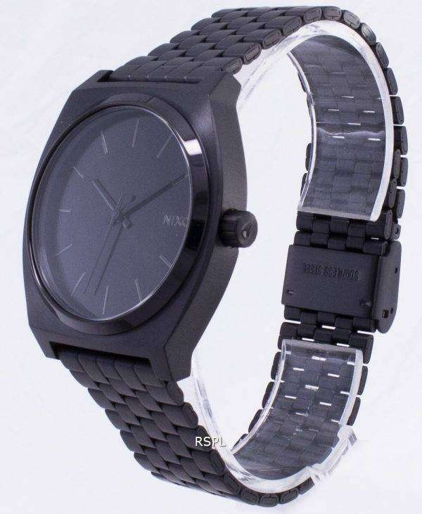 Nixon Quartz Time Teller 100M A045-001-00 Mens Watch