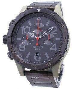 Nixon 48-20 Chrono Quartz 200M A486-2220-00 Men's Watch
