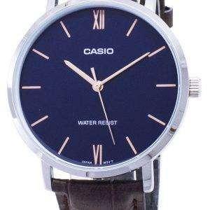 Casio Quartz MTP-VT01L-2B MTPVT01L-2B Analog Men's Watch