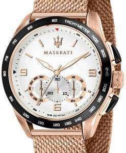 Maserati Traguardo R8873612011 Chronograph Tachymeter Quartz Men's Watch